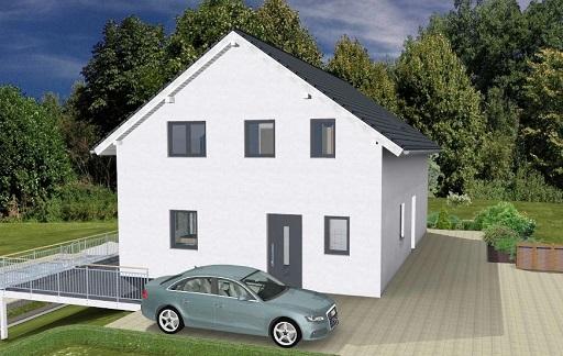 k-Monatshaus mit 2 Einliegerwohnungen Einfahrt