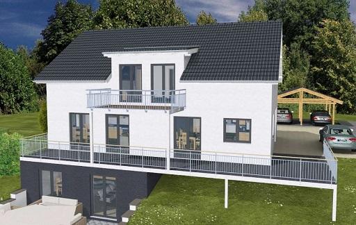 k-Monatshaus mit 2 Einliegerwohnungen Garten 1