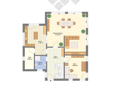 Mediteran 242 Erdgeschoss