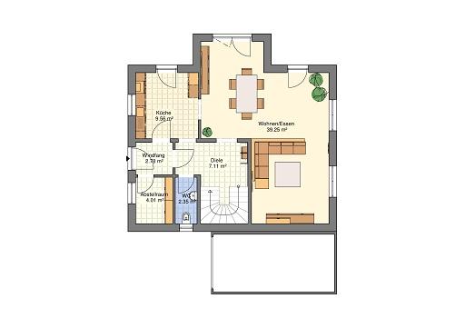 Lifestyle 150 Erdgeschoss