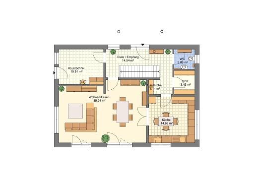 Classik 166 Monatshaus Mai 17 Erdgeschoss