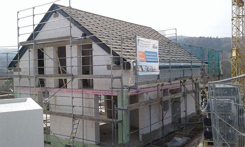 Baubeginn Weinstadt